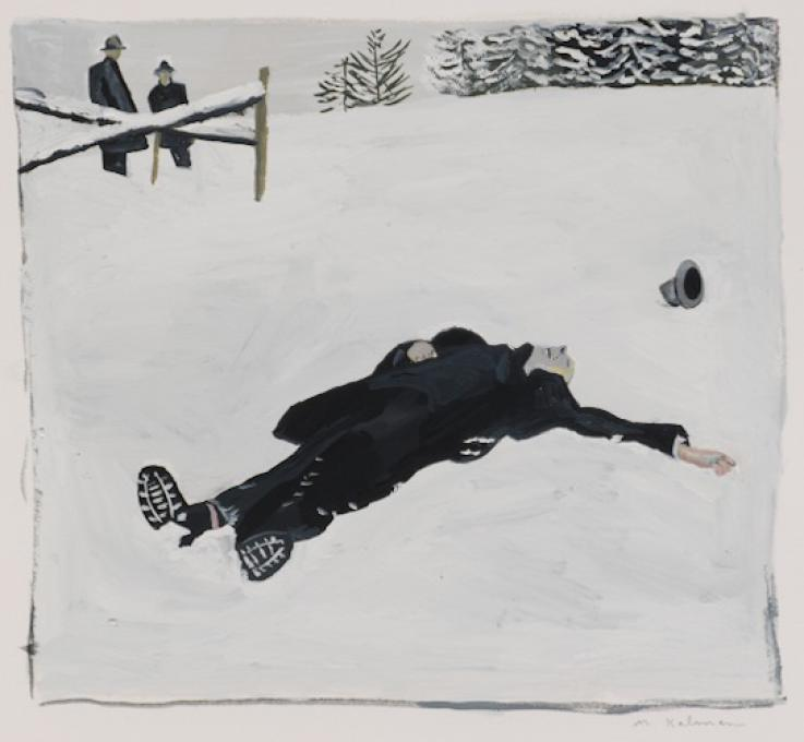 Man in the Snow, 2012