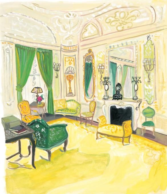 Music Room in the Carnegie Mansion