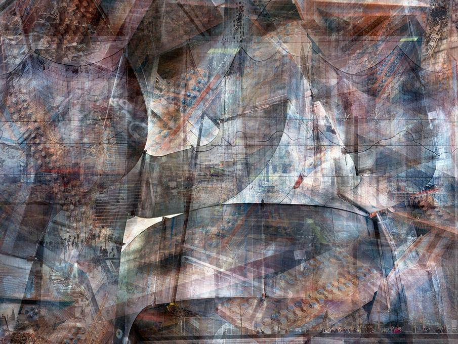 World Trade Center: Concrete Abstract #3, 2001-2012