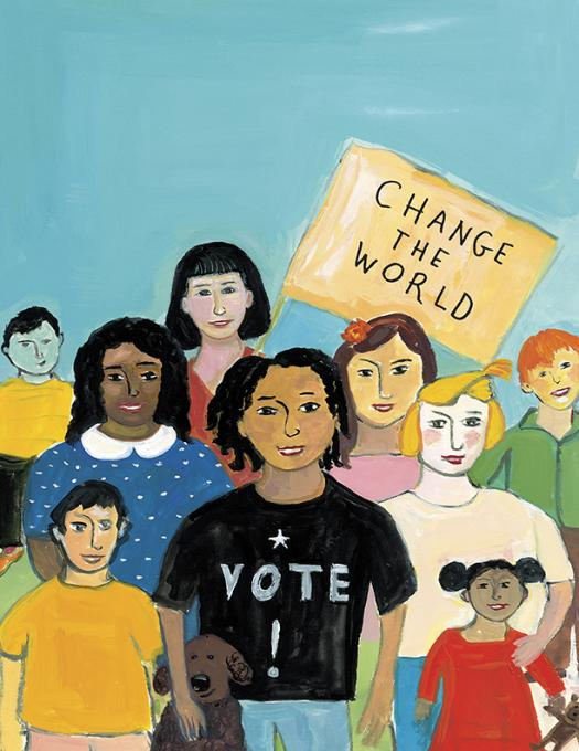 Change The World, Vote!, 2018