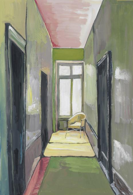 Corridor with Yellow Chair, 2012