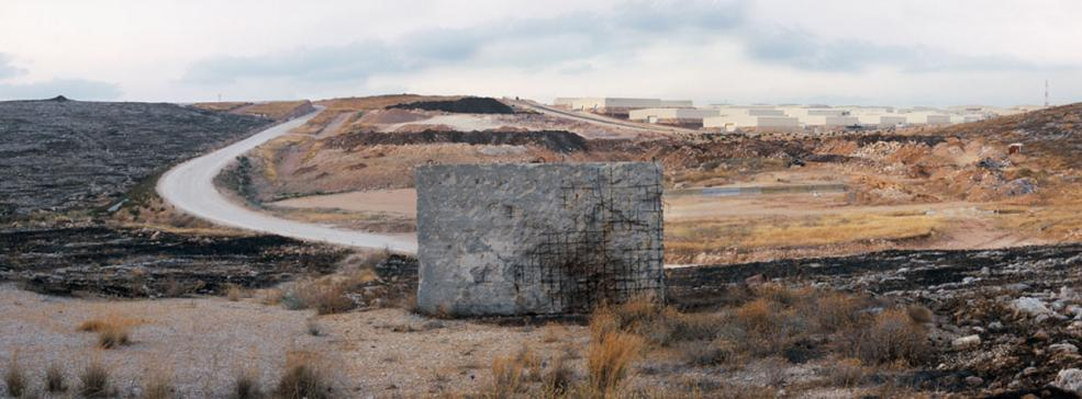 U.S. military ammunition storage next to Nashonim, 2005
