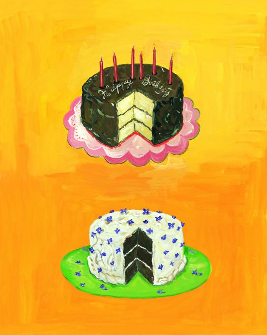 Chocolate and Vanilla Cakes, 2010