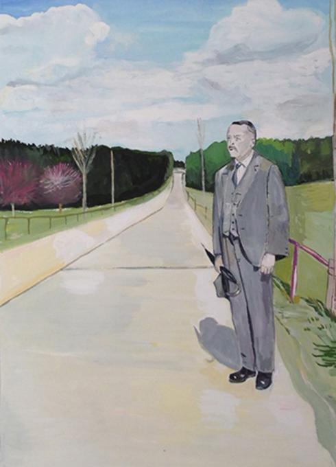 Robert Walser on a Walk, 2012