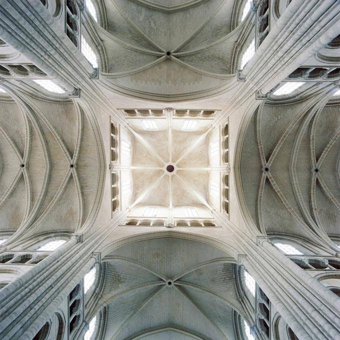 #53804, Crossing, Laon Cathedral, Laon, France, 2006 pigment print 28