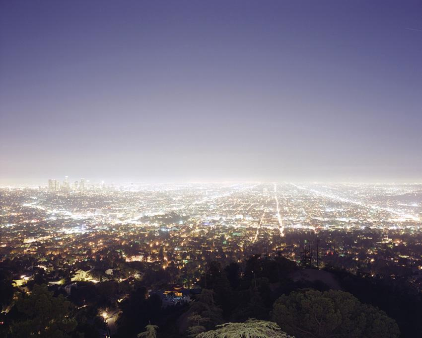 Los Angeles from Griffith Observatory, 2010 pigment print 28