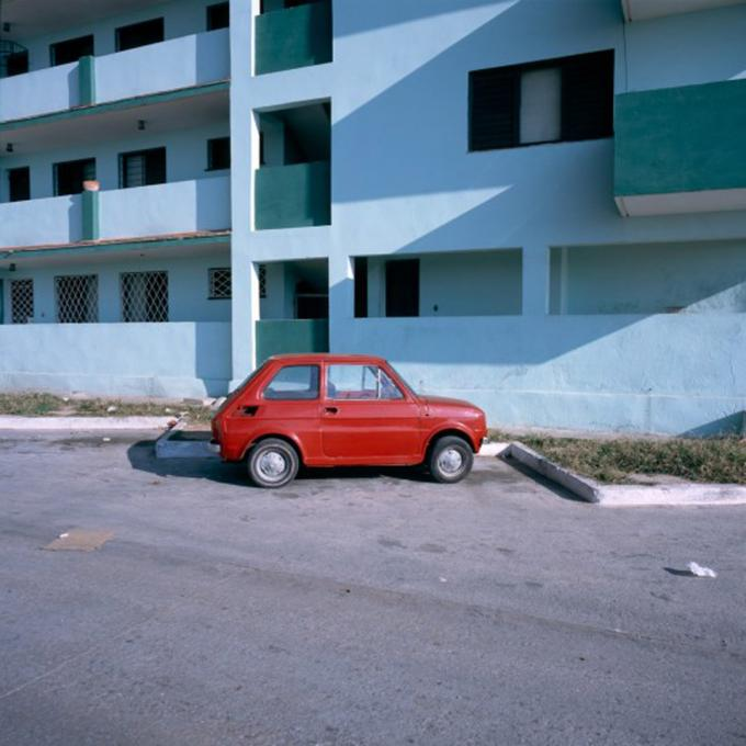 """Red Car, 2006 cibachrome print image 10 x 10"""", 17 x 20"""" framed, edition of 3"""