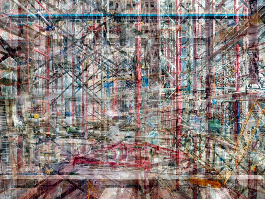 World Trade Center: Concrete Abstract #4, 2011-2012