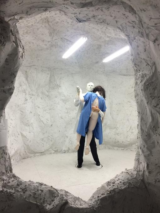 The Cave, installation view