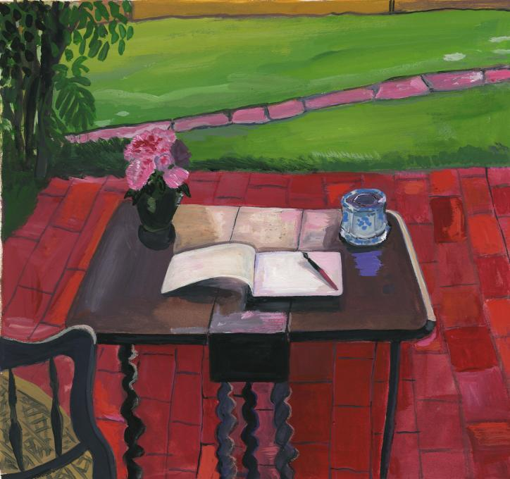 Virginia Woolf's Desk, 2019