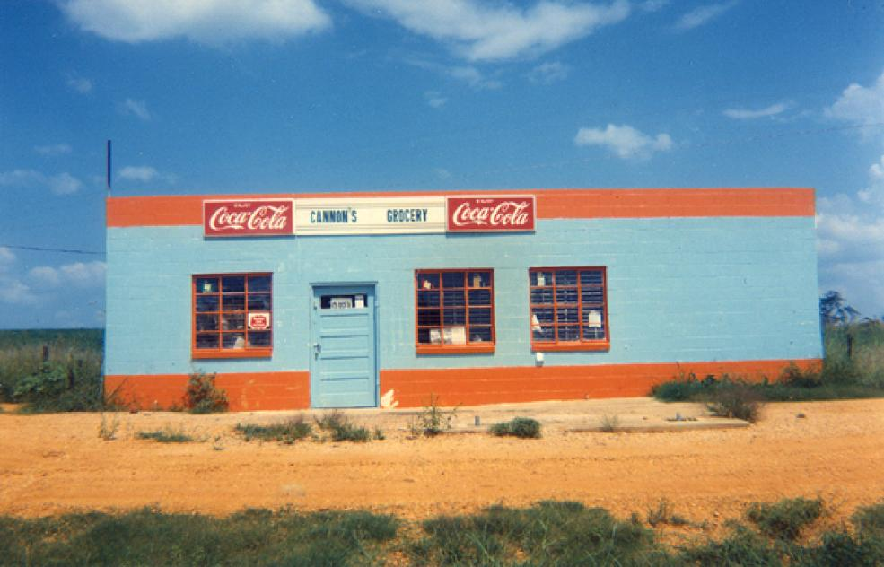 Cannon's Grocery, Near Greenboro, Alabama, 1972