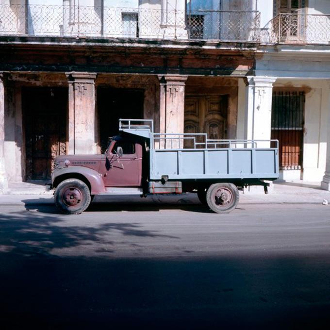 """Truck #1, 2006 cibachrome print image 10 x 10"""", 17 x 20"""" framed, edition of 3"""