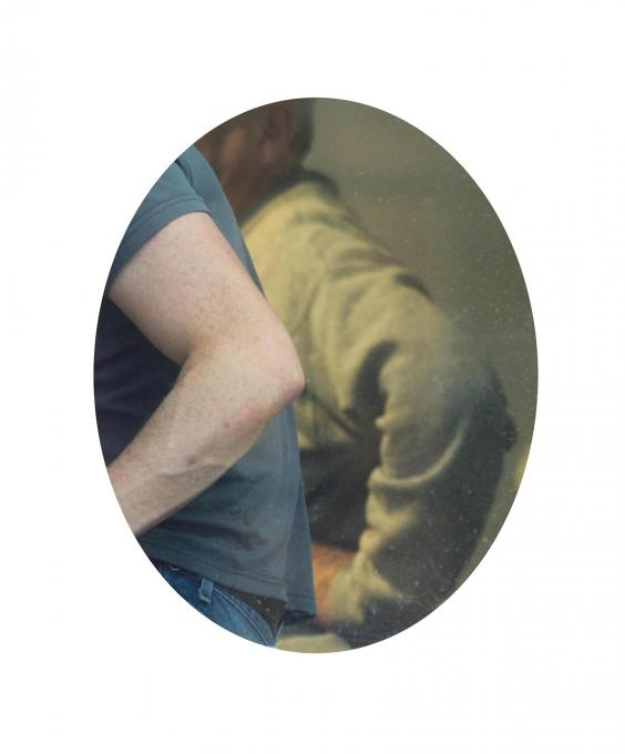 Workers #1, 2014 pigment print  14 x 11