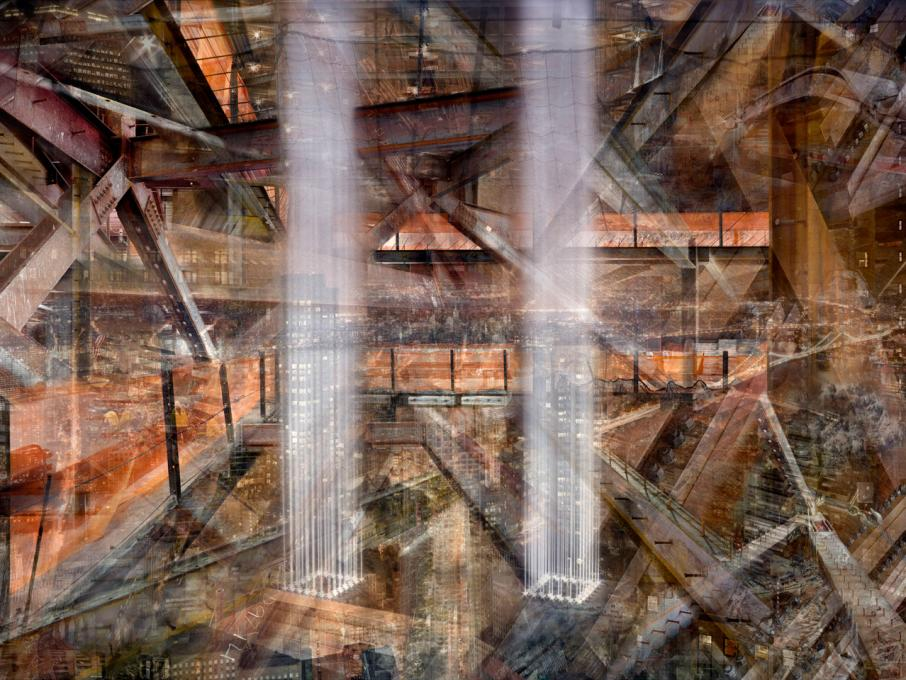 World Trade Center: Concrete Abstract #17, 2001-2013