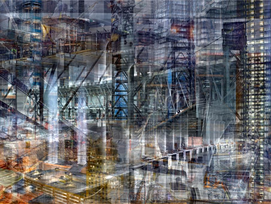World Trade Center: Concrete Abstract #16, 2011-2013