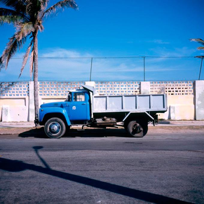 """Truck #2, 2006 cibachrome print image 10 x 10"""", 17 x 20"""" framed, edition of 3"""