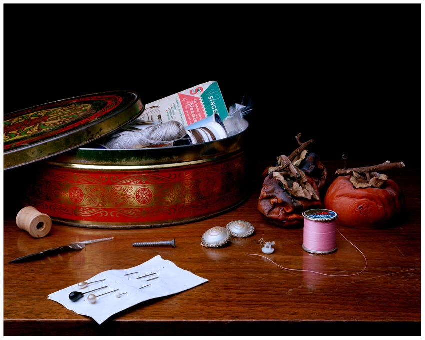 Still Life with Thread and Tomatoes, 2011 chromogenic print 16 x 20