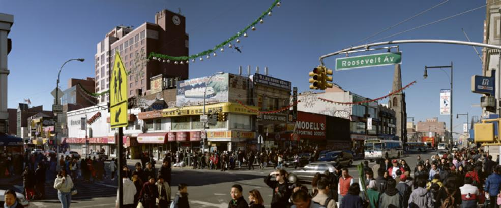 Downtown, Flushing, 2005