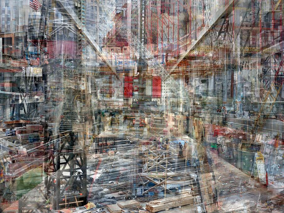 World Trade Center: Concrete Abstract #1, 2011-2012